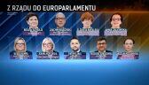 Z rządu do Parlamentu Europejskiego