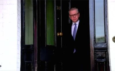 Michael Gove jest kandydatem na premiera Wielkiej Brytanii