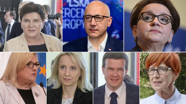 Zmiany w rządzie Morawieckiego. Giełda nazwisk