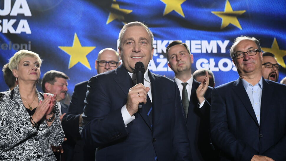Koalicja Europejska znalazła sięna drugim miejscu w niedzielnych wyborach do Parlamentu Europejskiego