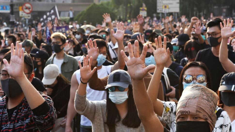 """""""Chcę zapytać, który aspekt wolności mieszkańców Hongkongu został naruszony?"""""""