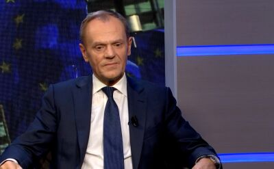 Donald Tusk, new chief of the EPP, in an interview for TVN24