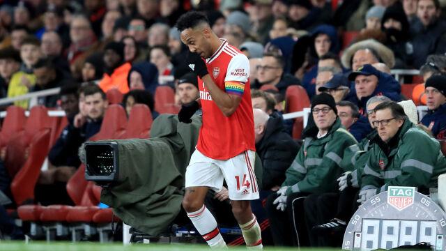 """Zawodnik Arsenalu na kilka minut zniknął  z murawy. """"Jeśli musisz, to musisz"""""""
