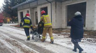 Rozszczelnił się gazociąg, strażacy ewakuowali mieszkańców