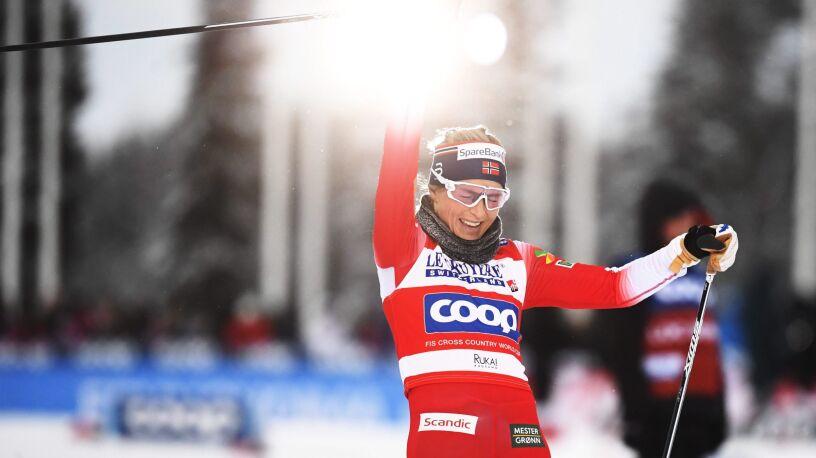 Johaug i długo, długo nic. Norweżka z kolejnym zwycięstwem w Pucharze Świata
