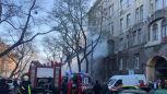 Szczątki 16 osób odnaleziono po pożarze szkoły w Odessie
