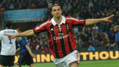 Ibrahimović powitany w Mediolanie.