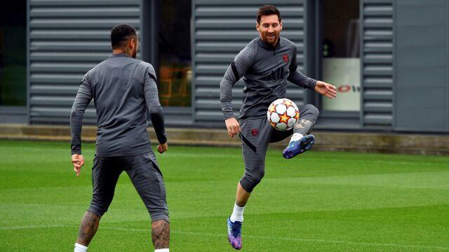 Messi wraca na hit Ligi Mistrzów