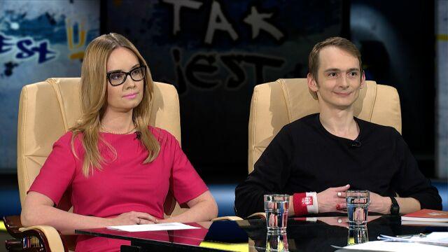 Jaś Kapela i Lidia Sankowska-Grabczuk w Tak Jest