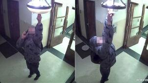Podejrzany o kradzież żyrandoli zatrzymany. Łup trafił wcześniej do skupu złomu