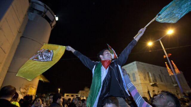 Tak Palestyńczycy cieszyli się z decyzji ONZ