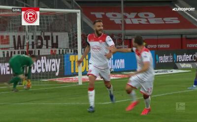 Skrót meczu Fortuna Duesseldorf - Schalke w 28. kolejce Bundesligi