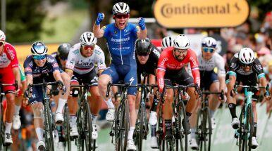 Kolarze wreszcie dojechali bezpiecznie. Cavendish zwycięzcą 4. etapu Tour de France