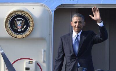 Obama z wizytą w Szwecji
