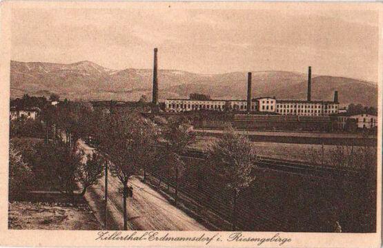 Zakłady lniarskie w Mysłakowicach przed II wojną światową