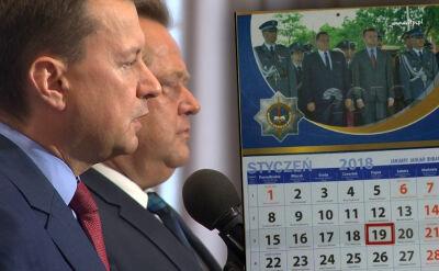 Kalendarz z szefami MSWiA