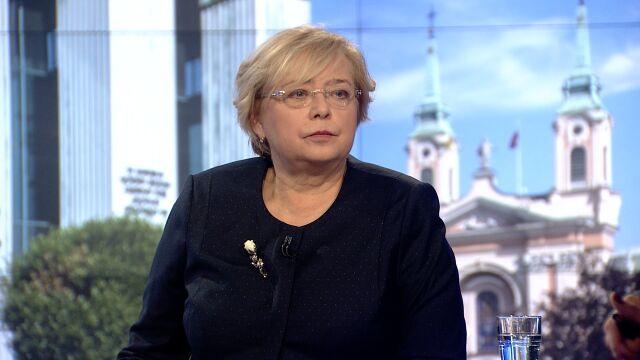 Prof. Małgorzata Gersdorf o prezydenckich ustawach