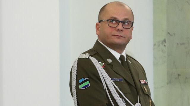 Generał Kraszewski odwołał się od decyzji o cofnięciu mu dostępu do informacji niejawnych