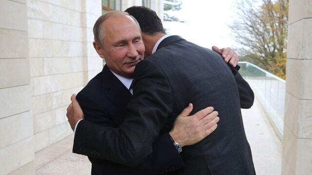 Asad: atak koalicji zjednoczył narody Syrii i Rosji