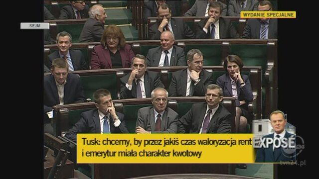 Premier o zmianach w systemie emerytalnym