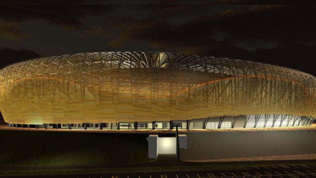 """Pierwsze prace przy """"Baltic Arena"""""""