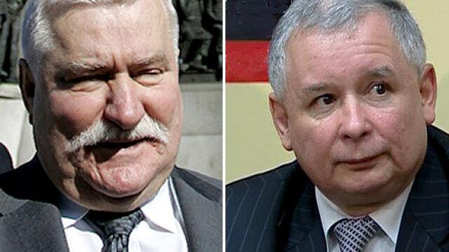 Kaczyński: Wałęsa nie jest dla mnie partnerem