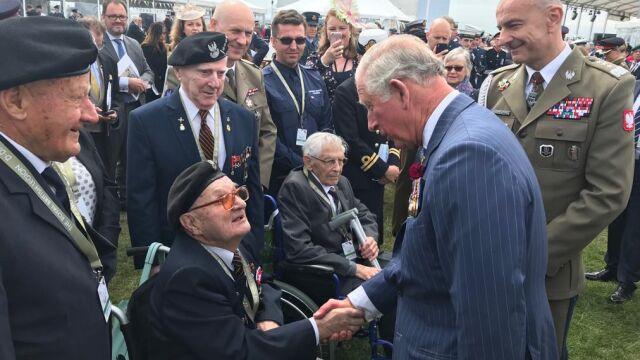 Książę Karol podziękował polskim weteranom