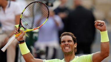 Rafael Nadal w 12. paryskim półfinale. Rozbity Nishikori