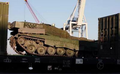 NATO. Norweskie czołgi przypłynęły do Szczecina na Noble Jump 2019