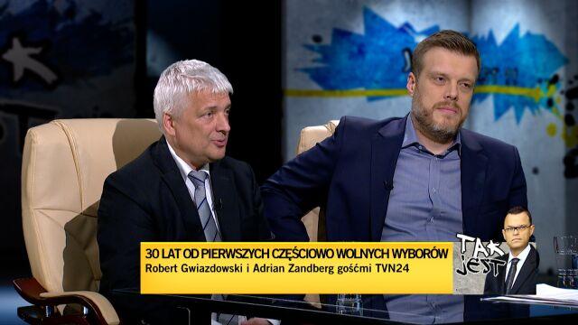 Robert Gwiazdowski i Adrian Zandberg w Tak jest