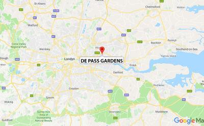 Pożar budynku mieszkalnego w Londynie