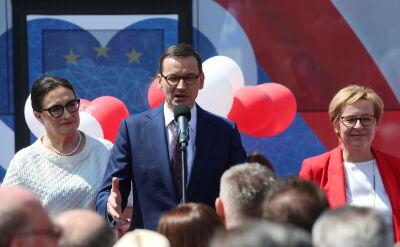 Morawiecki: eurowybory są bardzo ważnym etapem na drodze do reformowania Polski