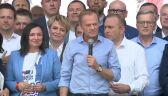 Tusk: czy warto głosować na tych, którzy tak długo będą Europejczykami, jak będzie im nakazywał interes wyborczy