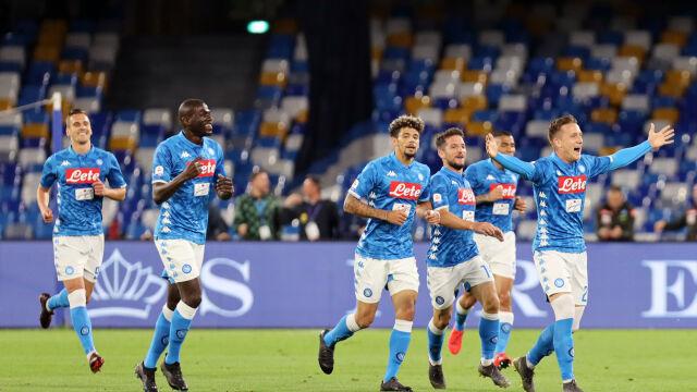 Zieliński huknął jak z armaty. Napoli ograło Inter