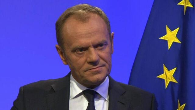 "Donald Tusk w ""Faktach po Faktach"" w TVN24"