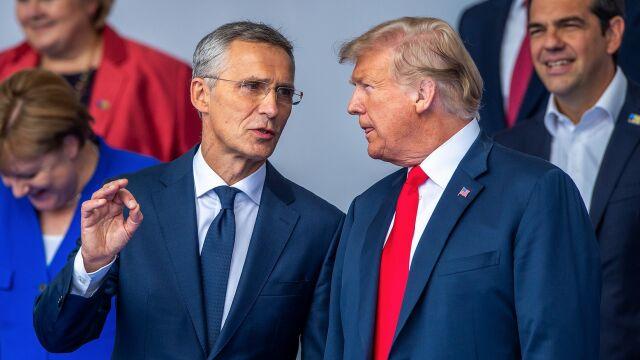 Trump zadowolony po dodatkowej sesji: NATO silniejsze niż dwa dni temu