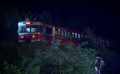 Awaryjne hamowanie pociągu z pielgrzymami. Dziesięć osób w szpitalu