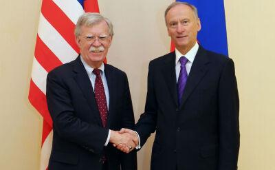 John Bolton w Moskwie. Rozmowy o układzie INF