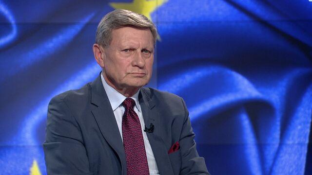 """Leszek Balcerowicz był gościem """"Faktów po Faktach"""" TVN24"""