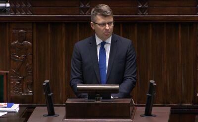 Wiceminister sprawiedliwości Warchoł o postanowieniu TSUE