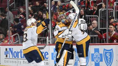 Na takiego gola w NHL czekano siedem lat. Bramkarz przeszedł do historii