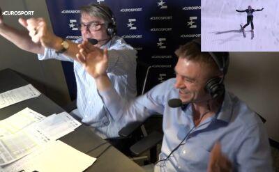 Szalona radość komentatorów po triumfie Kubackiego w Turnieju Czterech Skoczni