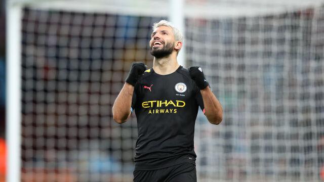 Wielkie osiągnięcie Aguero. Manchester City znów gromi