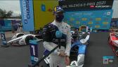 Dennis po wygraniu 2. E-Prix Walencji