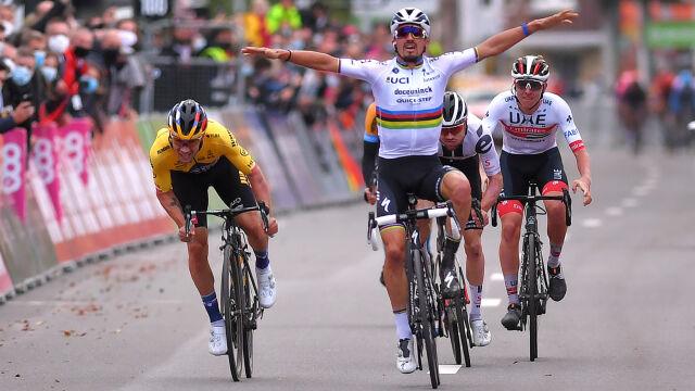 Mistrz świata za wcześnie uwierzył w zwycięstwo. Zaskakująca końcówka Liege-Bastogne-Liege