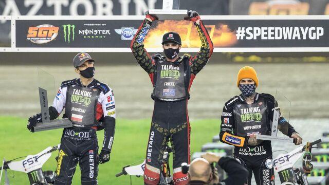 Fricke wygrał w Toruniu. Zmarzlik wciąż liderem cyklu
