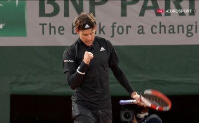 Thiem awansował do 2. rundy Roland Garros