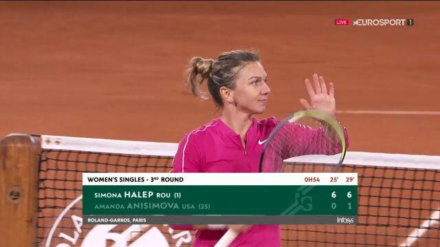 Halep awansowała do 4. rundy Roland Garros