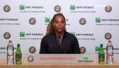 Serena Williams o wycofaniu się z dalszej rywalizacji w Roland Garros