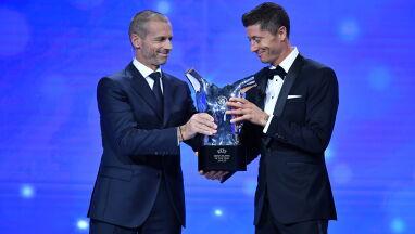 Robert Lewandowski Piłkarzem Roku UEFA. Wielki wieczór polskiego napastnika